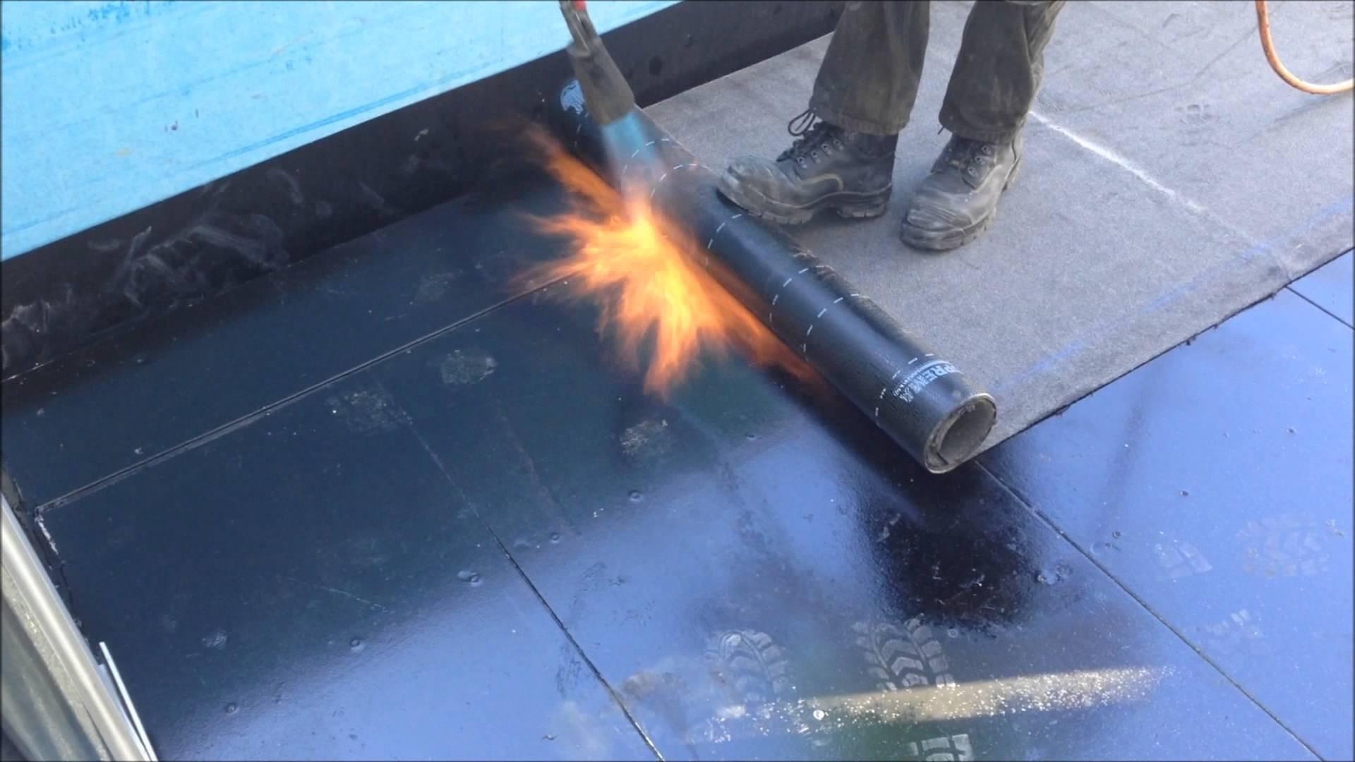 pemasangan waterproofing membran